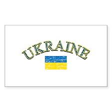 Ukraine Soccer Designs Decal