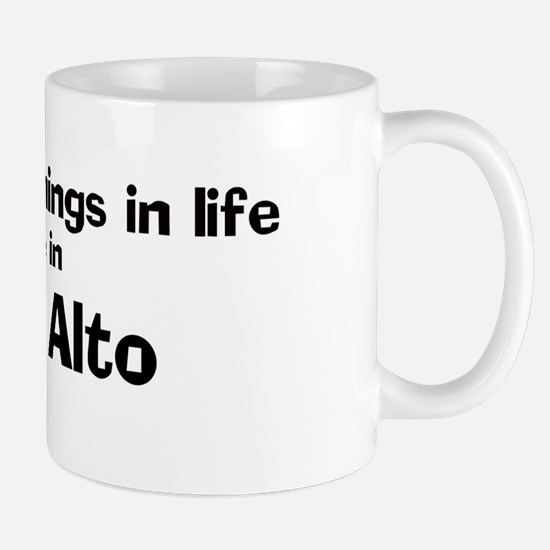 Palo Alto: Best Things Mug