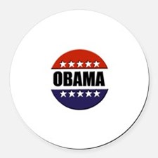 Obama red white and blue Magnet