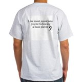 Bass player Mens Light T-shirts