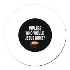 Who Would Jesus Bomb? Anti-War Magnet
