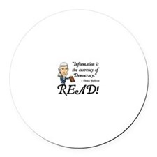 Thomas Jefferson - Read!<br> Magnet