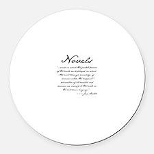 Jane Austen on Novels Magnet