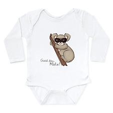 Koala Long Sleeve Infant Bodysuit