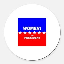 Wombat for President Magnet