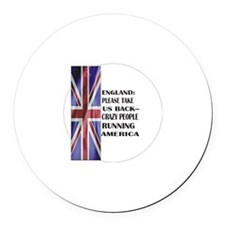 UK, Take America Back Magnet