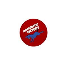 Democratic Victory Miniature Pin