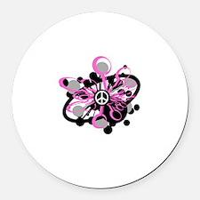 Pink Peace Burst Magnet