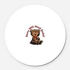 Beary Wild About Books Magnet