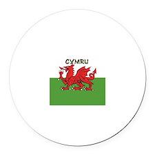 ...Cymru... Round Magnet
