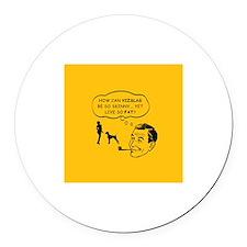 VIZSLA- Skinny Dog, Fat life- Magnet