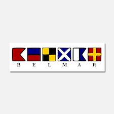 Nautical Belmar Car Magnet 10 x 3