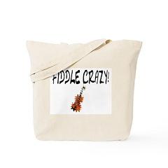 Crazy Fiddler! Tote Bag