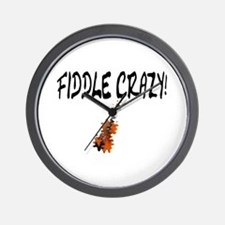 Crazy Fiddler! Wall Clock