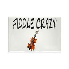 Crazy Fiddler! Rectangle Magnet