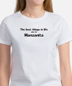 Manzanita: Best Things Tee