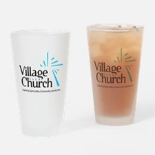 Village Church Drinking Glass