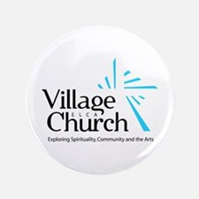 "Village Church 3.5"" Button"