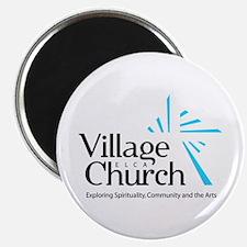 Village Church Magnet