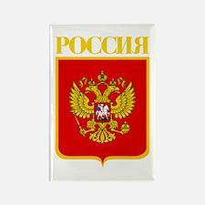 Russian Federation COA Rectangle Magnet