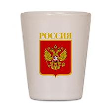 Russian Federation COA Shot Glass