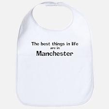 Manchester: Best Things Bib