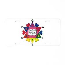 Cool Religious progressive Aluminum License Plate