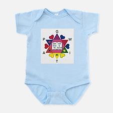 Truth logo Infant Bodysuit