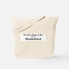 Shackelford: Best Things Tote Bag