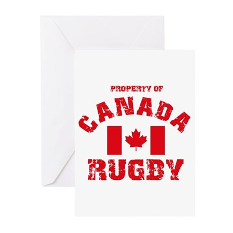 """Canada Rugby"" Greeting Cards (Pk of 10)"