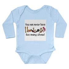 Funny I love shopping Long Sleeve Infant Bodysuit