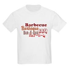 How Do You Spell BBQ Kids Light T-Shirt