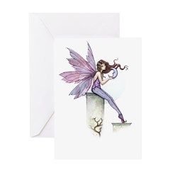Whispering Moon Fairy Greeting Card