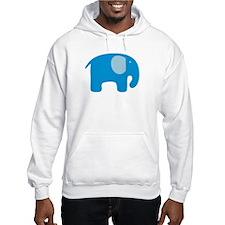 Blue Elephant Hoodie