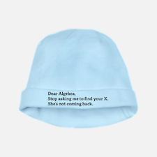 Dear Algebra baby hat