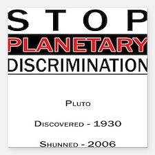 Planetary Discrimination Square Car Magnet