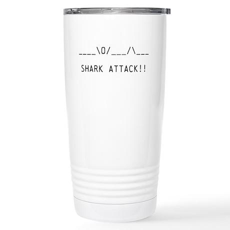 SHARK ATTACK Stainless Steel Travel Mug