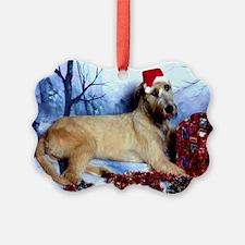 Irish Woflhound Christmas Ornament