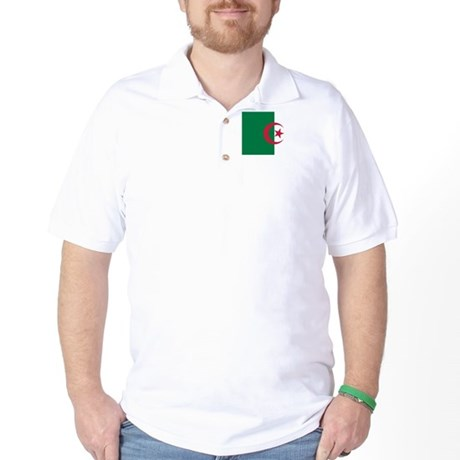 Algeria flag Golf Shirt
