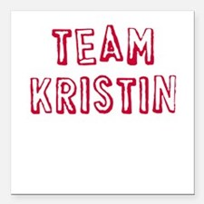 Team Kristin Square Car Magnet