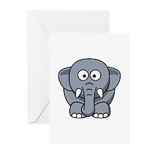 Elephant Greeting Cards (Pk of 20)
