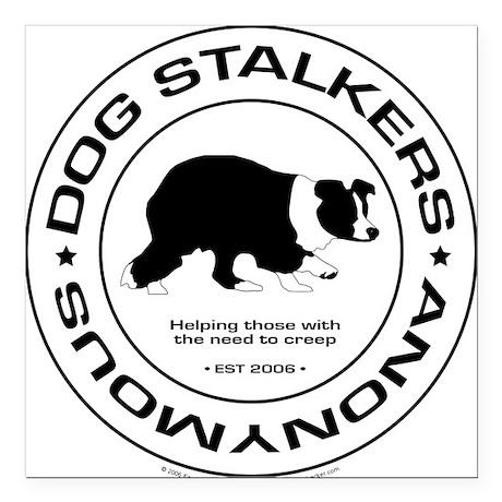 Official DSA Seal Square Car Magnet