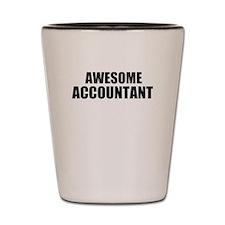 Awesome accountant Shot Glass