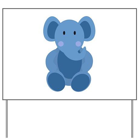 Elephant Yard Sign