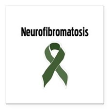 Neurofibromatosis Square Car Magnet