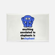 Irrelephant Rectangle Magnet (10 pack)