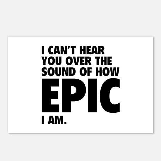 EPIC Postcards (Package of 8)