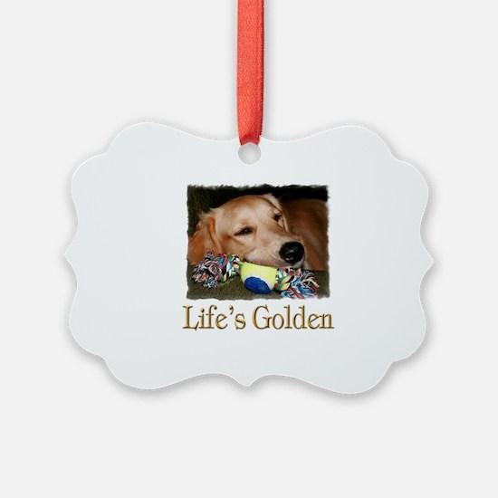 Life's Golden Ornament