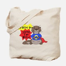 Saving The World Tote Bag