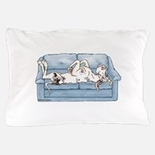 Merlequin couch Pillow Case